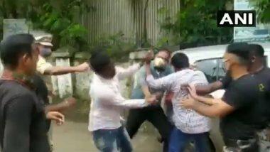 Dhule: मंत्री अब्दुल सत्तार यांची गाडी अडवणाऱ्या ABVP कार्यकर्त्यांना पोलिसाकडून मारहाण झाल्याचा आरोप(Watch Video)