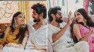 Rana Daggubati And Miheeka Bajaj's Wedding Photos: राणा दग्गुबाती आज मिहिका बजाज सोबत बांधणार लग्नगाठ, सोशल मीडियावर फोटो चर्चेत
