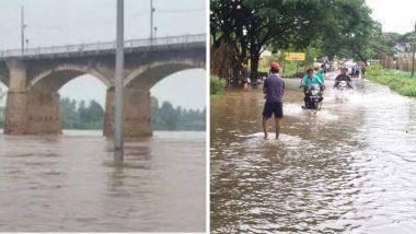 Maharashtra Monsoon: सांगली मध्ये पावसाची तुफान बॅटिंग, कृष्णा नदीच्या पाणी पातळीत वाढ, दोन गावांंचा संपर्क तुटला
