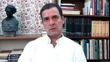 EIA 2020 मसूदा मागे घेऊन केंद्र सरकारने देशाची लूट थांबवावी- राहुल गांधी