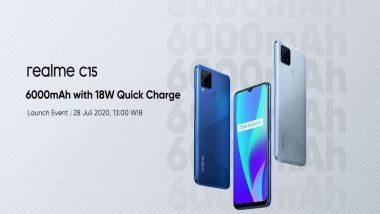 Realme C12 आणि Realme C15 स्मार्टफोन येत्या 18 ऑगस्टला होणार लॉन्च, जाणून घ्या फिचर्स