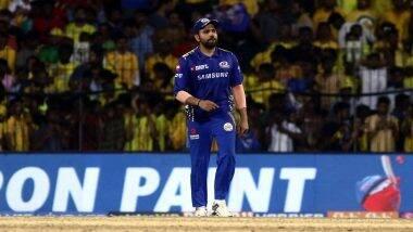 Rohit Sharma's New Look for IPL 2020! इंडियन प्रीमियर लीग 13 साठी मुंबई इंडियन्स कॅप्टन रोहित शर्माने बदलला लुक, पाहा फोटो