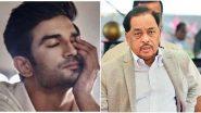 Sushant Singh Rajput Case: सुशांत सिंह राजपूत याची हत्या झाली, भाजप खासदार नारायण राणे यांचा दावा