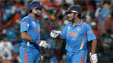 'टीम इंडियाच्या2019 वर्ल्ड कपसंघात निवड होणार नसल्याचे एमएस धोनीने आधीच सांगितले होतं', युवराज सिंहनेउलगडलं गुपित