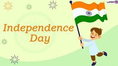 Independence Day 2020 Virtual Celebration Ideas: तिरंगी रेसिपी ते देशभक्ती गीत गाऊन, जाणून घ्या 15 ऑगस्ट दिवशी 74 वा स्वातंत्र्य दिन साजरा करण्याच्या युनिक आयडियाज