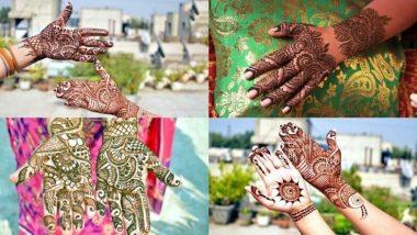Raksha Bandhan 2020 Mehndi Design: रक्षाबंधन निमित्त आपल्या हाताचं सौंदर्य खुलवण्यासाठी काढा 'या' खास मेहंदी डिझाईन्स; पहा व्हिडिओ