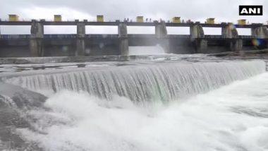 Pune: खडकवासला धरणातून विसर्ग सुरु; शहराला पाणीपुरवठा करणाऱ्या धरणांत 63.91% पाणीसाठा