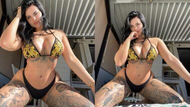XXX Star Renee Gracie Hot Photo: Pornstar रेनी ग्रेसी चे लेटेस्ट बिकिनी फोटो पाहुन व्हाल थक्क, जरा कोपर्यात जाउनच पाहा