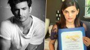 Sushant Singh Rajput: कॅलिफोर्निया राज्य विधानसभेकडून दिवंगत अभिनेता सुशांत सिंह राजपूतचा सन्मान; बहिण श्वेता सिंह किर्तीने स्वीकारला पुरस्कार