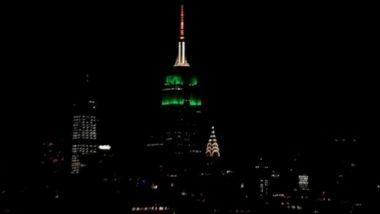 74th Independence Day: भारतीय 74 व्या स्वातंत्र्यदिनानिमित्त अमेरिकेची प्रसिद्ध Empire State Building उजळली तिरंगी रंगात (Watch Video)
