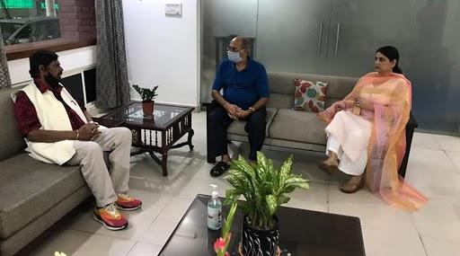 Sushant Singh Rajput Case: केंद्रीय मंत्री रामदास आठवले यांनी घेतली सुशांत सिंह राजपूतचे वडील के के सिंह यांची भेट