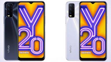 Vivo Y20, Vivo Y20i Launched In India: व्हिवो कंपनीने लॉन्च केले 'हे' 2 धमाकेदार स्मार्टफोन; कमी किंमतीत 4 कॅमेऱ्यांचा समावेश