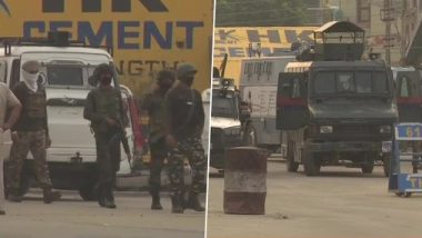 Srinagar Encounter: श्रीनगरमधील चकमकीत भारतीय जवानांकडून 3 दहशतवाद्यांना कंठस्नान