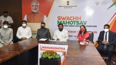 Swachh Survekshan 2020: स्वच्छ भारत अभियानाच्या राष्ट्रीय पुरस्कारांमध्ये महाराष्ट्राची घोडदौड कायम - नगरविकास मंत्री एकनाथ शिंदे