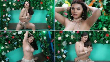 Sherlyn Chopra Hot Bikini Video: शर्लिन चोपडा ने न्यूड शेड बिकिनी घालून पाळण्यावर बनवलेला 'हा' व्हिडीओ पाहून झुलेल तुमचेही मन