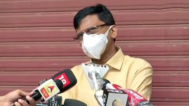 Sushant Singh Rajput Case: मुंबई पोलिसांना तपासात अडथळा आणून प्रकरणातील सत्य दडपायचं हा बिहार-महाराष्ट्रातील राजकर्त्यांचा डावः संजय राऊत