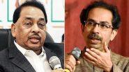 Rane Vs Thackeray: 'उद्धव ठाकरे म्हणजे दोन्ही बाजुला जाणारं गांडूळ, बेईमानी करून पद मिळवल्याचा' नारायण राणे यांचा पलटवार