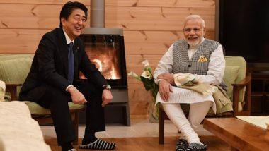 जपानचे पंतप्रधान शिंजो अबे यांच्या नेतृत्व आणि वैयक्तिक बांधिलकीमुळे भारत-जपान संबंध अधिक मजबूत झाले - पंतप्रधान नरेंद्र मोदी