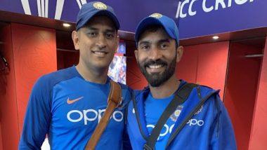 Dinesh Kartik Requests BCCI: महेंद्रसिंह धोनीची 7 नंबरची जर्सी कायमस्वरुपी रिटायर करावी; भारतीय क्रिकेटपटू दिनेश कार्तिक याची बीसीसीआयकडे विनंती