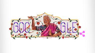 Zohra Segal Google Doodle: जोहरा सेहगल यांच्या स्मरणार्थ गुगलने आपल्या खास शैलीत डूडल बनवून या दिवंगत अभिनेत्रीला दिली अनोखी मानवंदना!