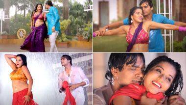 Monalisa Bhojpuri Hot Video: भोजपुरी अभिनेत्री मोनालिसा चा पावसात भिजतानाचा 'हा' हॉट आणि बोल्ड डान्स पाहुन व्हाल अवाक