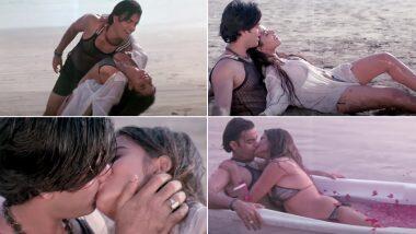 Monalisa Hot Bhojpuri Song: मोनालिसा ने Bikini घालुन समुद्रात केलेला हा हॉट रोमान्स लावतोय पाण्यातही आग (Watch Video)