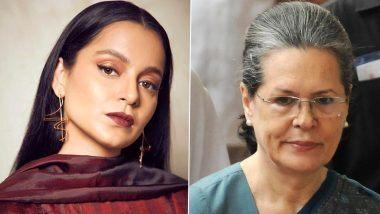 Kangana Ranaut on Sonia Gandhi:  BMC कडून ऑफिसवर झालेल्या कारवाईनंतर कंगना रनौत हिने काँग्रेस अध्यक्ष सोनिया गांधी यांना विचारले 'हे' प्रश्न (View Tweet)