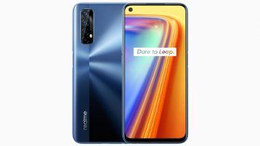 Realme 7 Smartphone's First Online Sale: उद्या दुपारी 12 पासून रियलमी 7 स्मार्टफोनचा पहिला ऑनलाईन सेल; खरेदी करण्यापूर्वी जाणून घ्या फिचर्स आणि किंमत