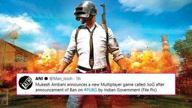 JioG After PUBG Ban? भारतात पबजी खेळावर बंदी घातल्यानंतर रिलायन्स लॉन्च करत आहे 'New Game JioG'; जाणून घ्या या व्हायरल बातमीमागील सत्य
