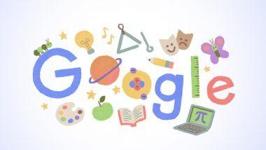 शिक्षक दिन 2020 Google Doodle: शिक्षकांच्या योगदानाबद्दल गुगलने डुडल साकारुन केला सन्मान!  (View Pic)