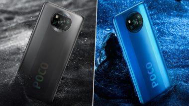 Poco X3 स्मार्टफोनचा आज भारतात होणार पहिला सेल, दुपारी 12 वाजता फ्लिपकार्टवर होणार विक्रीसाठी उपलब्ध
