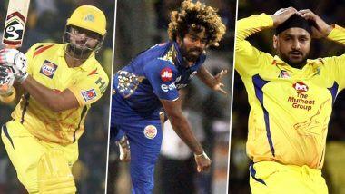 IPL 2020 Update: सुरेश रैना, लसिथ मलिंगा, हरभजन सिंहसह 6 तगड्या खेळाडूंचीपीछेहाट, पाहा 13 व्या मोसमात भाग न घेणाऱ्या खेळाडूंची लिस्ट व त्यांची रिप्लेसमेंट