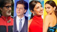 World's Most Admired Men and Women: जगातील सर्वाधिक प्रशंसनीय व्यक्तींच्या यादीमध्ये बॉलिवूडमधील Amitabh Bachchan, Shahrukh Khan, Priyanka Chopra, Deepika Padukone यांचा समावेश, जाणून घ्या संपूर्ण यादी