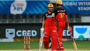 SRH vs RCB, IPL 2020: आयपीएल इतिहासात RCB ने मैदानात उतरवल्या सर्वाधिक वेळा-वेगळ्या जोड्या, आकडे पाहून डोळे चक्रावतील
