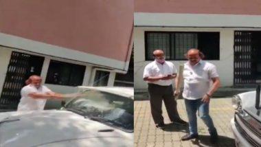 MNS Corporator Vasant More Vandalises the Car: पुण्यात कोरोना विषाणू बाधित नातेवाईकाला रुग्णवाहिका न मिळाल्याने, मनसे नगरसेवक वसंत मोरे यांनी फोडली महापालिका अधिकाऱ्याची गाडी (Watch Video)