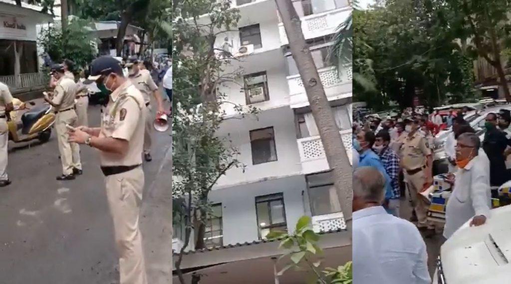 Teacher Suicide Attempt in Mumbai: वेतन मिळत नसल्याने शाळा शिक्षकाचा मुंबईतील आमदार निवास इमारतीवर आत्महत्येचा प्रयत्न; विधानसभा अध्यक्ष नाना पटोले यांच्यासह मंत्री, आमदारांची धावपळ, बचावासाठी प्रयत्न