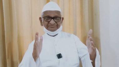 Anna Hazare  यांनी शेतकर्यांना पाठिंबा देण्यासाठी जानेवारी 2021 च्या शेवटच्या आठवड्यात उपोषण करण्याचा दिला इशारा