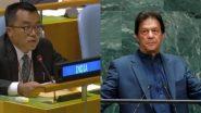 संयुक्त राष्ट्र: पाकिस्तान PM च्या भाषणाविरोधात UNGA मधून भारताचे वॉकआउट, इमरान यांनी संबोधनात RSS आणि कश्मीर मुद्द्यांवर साधला निशाणा