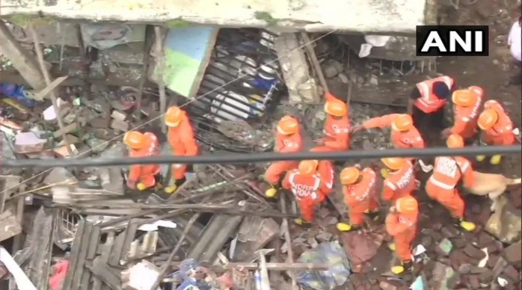 Building Collapse In Bhiwandi Update: भिवंडीत इमारती कोसळल्याच्या दुर्घटनेत 12 जणांचा मृत्यू; बचाव कार्य अद्याप सुरुच