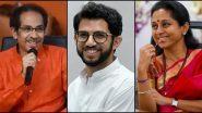 CM Uddhav Thackeray Election Affidavits: मुख्यमंत्री उद्धव ठाकरे, पर्यटणमंत्री आदित्य ठाकरे, खासदार सुप्रिया सुळे यांचे निवडणूक प्रतिज्ञापत्र तपासण्याबाबत निवडणूक आयोगाची CBDT कडे विनंती