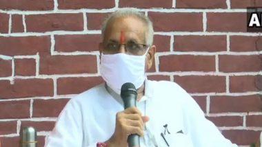 Champat Rai Support CM Uddhav Thackeray: मुख्यमंत्री उद्धव ठाकरे यांना अडवणारा अजून अयोध्येत जन्माला यायचा आहे- चंपत राय