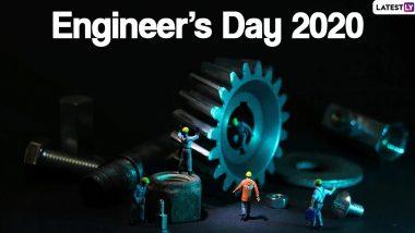 Happy Engineer's Day 2020: अभियंता दिनाच्या शुभेच्छा Quotes, Wishes, Greetings च्या माध्यमातून देऊन जगभरातील इंजिनिअर मंडळीचा आजचा दिवस करा खास