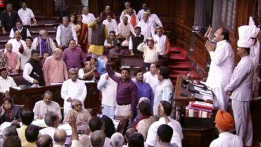 8 Rajya Sabha MP Suspended for a week: शेतकऱ्यांच्या मुद्द्यावर राज्यसभेत झालेल्या गदारोळ प्रकरणी राजीव सातव यांच्यासह अन्य 7 खासदारांचे निलंबन