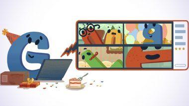 Google's 22nd Birthday: गुगल चा 22 वा वाढदिवस साजरा करणारे स्पेशल AnimatedIllustration डुडल