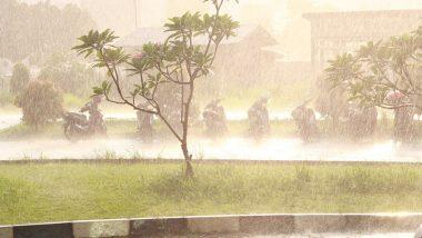Heavy Rain With Thunderstorm In Kolhapur: कोल्हापूरात मेघगर्जना, विजेच्या कडकडाटासह ढगफुटीसदृश्य पाऊस, नागरिकांची तारंबळ
