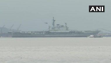 INS Viraat: 30 वर्ष सेवेसाठी दिलेल्या आयएनएस विराट जहाजाचा अंतिम प्रवास; मुंबईहून गुजरात च्या दिशेने वाटचाल सुरु