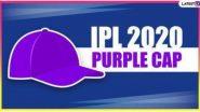 IPL 2020 Purple Cap Holder List: 'पर्पल कॅप'साठी गोलंदाजांमध्ये चुरशीची लढत, पाहा लेटेस्ट लिस्ट