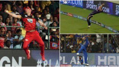 Top 5 Best Catches in IPL History: उत्कृष्ट फिल्डिंग व झेल पकडून खेळाडूंनी बदलला सामना; आयपीएलच्या इतिहासातील 'हे' 5 हैराण करणारे कॅच पुन्हा पाहाच! (Watch Videos)