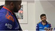 IPL 2020: मुंबई इंडियन्स संघ मालक निता अंबानी यांनी कीरोन पोलार्डला केला फोन, 'या' विशेष कामगिरीबद्दल केलं कौतुक (Watch Video)