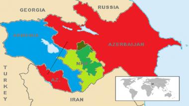 Azerbaijan, Armenia Clash: अर्मेनिया आणि अझरबैजान मध्ये Nagorny Karabakh क्षेत्रामुळे लढाई; 24 जण ठार, 100 पेक्षा अधिक जखमी, जाणून नक्की काय आहे वाद